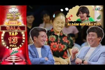 Thách thức danh hài 6 | Tập 13 GALA Full: Trấn Thành cười lăn khi bà Tân Vlog kể xấu Lê Giang te tua