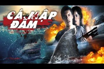 Phim Hành Động Chiếu Rạp Mỹ - ĐẦM CÁ MẬP - Shark Night 3D - Phim Hay Thuyết Minh