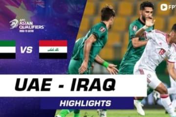 HIGHLIGHTS UAE - IRAQ | Ngôi sao Mabkhout khiến đồng đội rơi nước mắt ở những phút bù giờ
